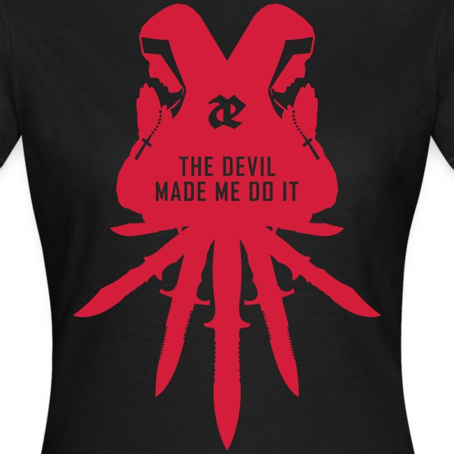 Leaether Strip - The Devil Made Me Do It : Girlie Shirt
