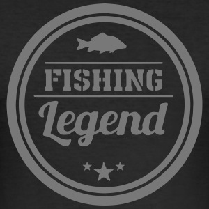 Angler Legende - Männer Slim Fit T-Shirt
