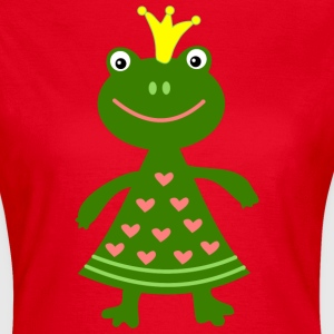 grenouille roi Tee shirts - T-shirt Femme