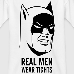 Batman Real Man Teenage T-Shirt - Teenager-T-shirt