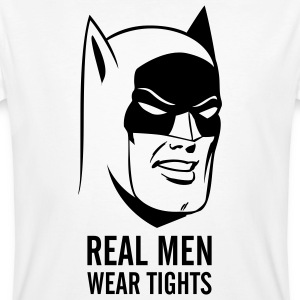 Batman Real Man mannen T-shirt - Mannen Bio-T-shirt