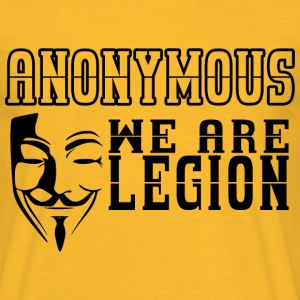anonymous we are legion Tee shirts - T-shirt Homme