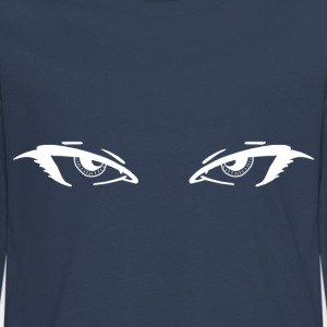 Eyes by Customstyle Manches longues - T-shirt manches longues Premium Ado