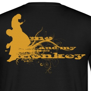 me and my monkey T-Shirts - Men's T-Shirt