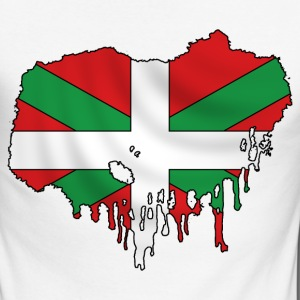 Basque flag grunge Manches longues - T-shirt baseball manches longues Homme