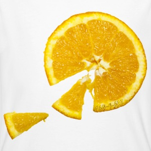 Orange - Männer Bio-T-Shirt