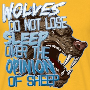 Wolves Opinion T-Shirts - Men's T-Shirt