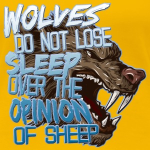 Wolves Opinion T-Shirts - Women's Premium T-Shirt