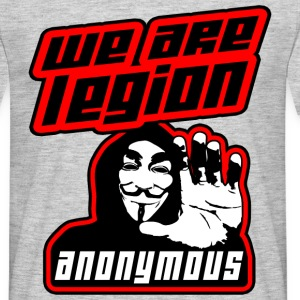 we are legion anonymous Tee shirts - T-shirt Homme