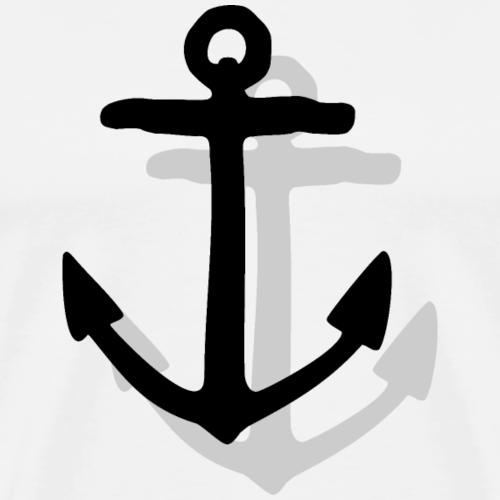 Anker mit Schatten Segel Design (Digital)