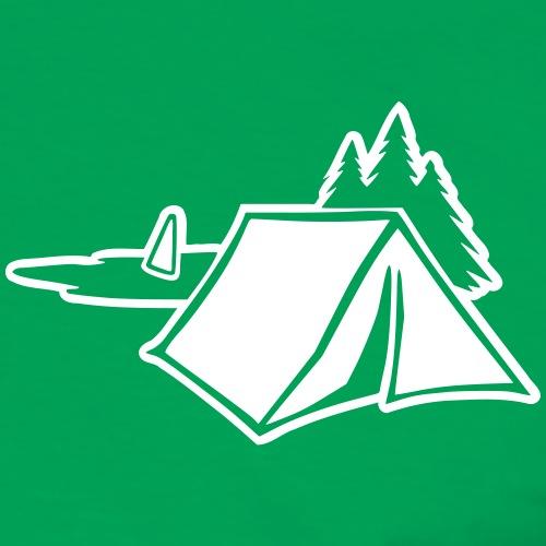 Camping (invers) Zelt Campingplatz
