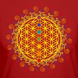 FLOWER OF LIFE, CHAKRAS, SPIRITUALITY, YOGA, ZEN,  T-shirts, Hoodies & Sweatshirts - Women's Organic T-shirt