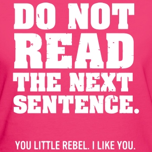 DO NOT READ FURTHER! Camisetas - Camiseta ecológica mujer