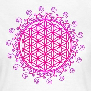 FLOWER OF LIFE, SPIRITUAL, SACRED GEOMETRY, YOGA T - Women's T-Shirt