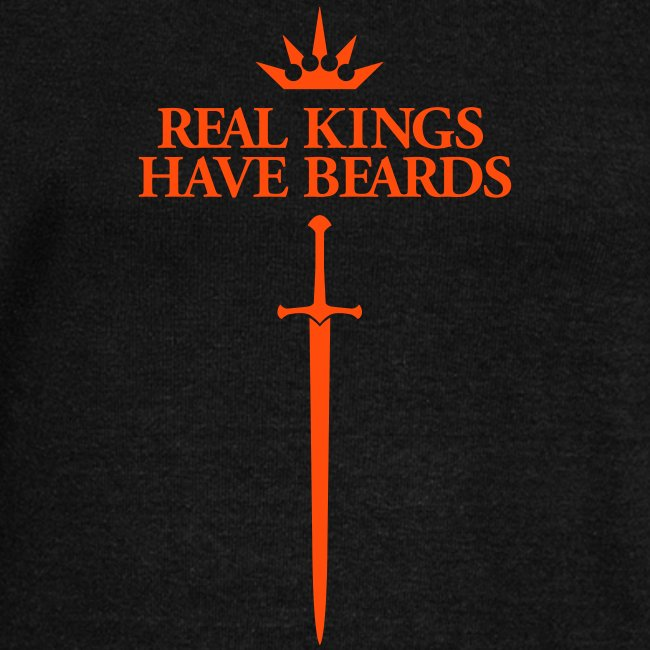Real kings have beards - Women's U-neck Sweater