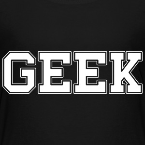 GEEK college T-Shirts - Teenager Premium T-Shirt