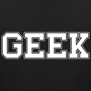 GEEK college Tank Tops - Männer Premium Tank Top