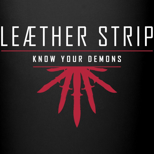 Leaether Strip - Know Your Demons : Coffee Mug