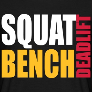 Squat Bench Deadlift - men's t1 - Men's T-Shirt