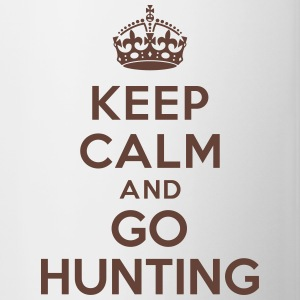 Keep calm and go hunting Bouteilles et Tasses - Tasse bicolore
