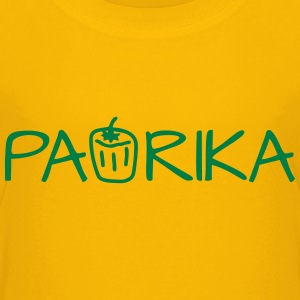 Paprika Gemüse - Text T-Shirts - Teenager Premium T-Shirt