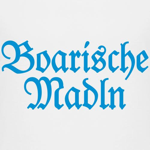 Boarische Madln Blau Bayern Design