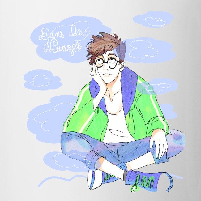 Mug : Dans les nuages