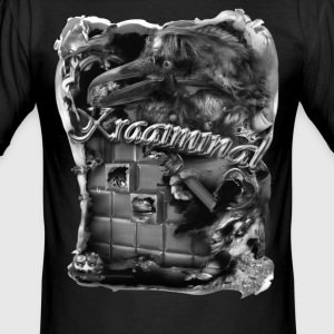 kraaiminal zw T-shirts - slim fit T-shirt