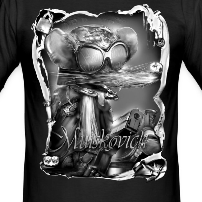 muiskovich portret zw T-shirts