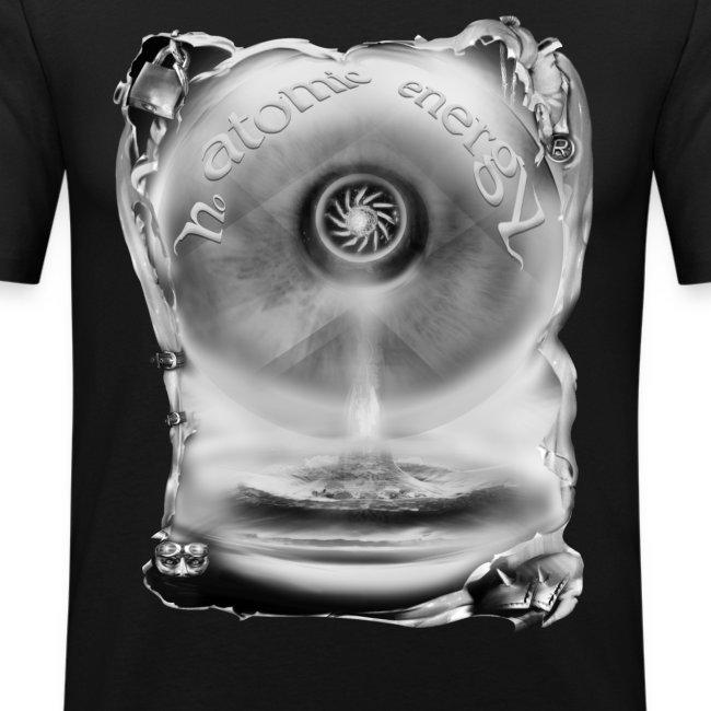no atomic energy zw T-shirts