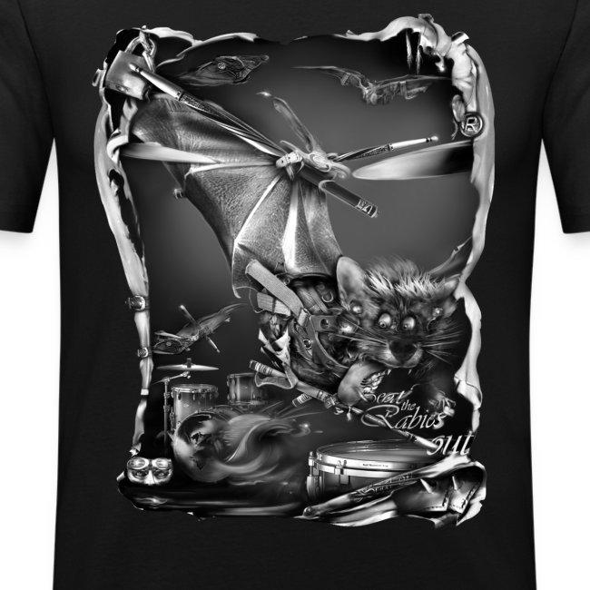 batdrummer zw T-shirts