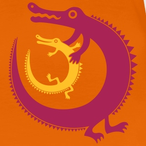 Crocodiles-Frauen-T-Shirt - Frauen Premium T-Shirt