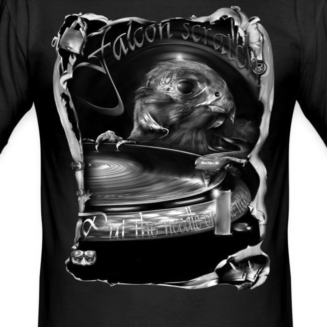 falcon scratch zw T-shirts