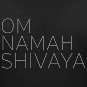 Om Namah Shivaya T-Shirts - Women's V-Neck T-Shirt