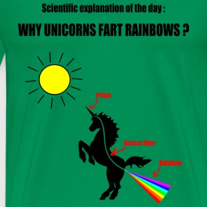Unicorns and Rainbows T-Shirts - Männer Premium T-Shirt