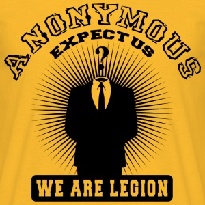 anonymous expect us Tee shirts - T-shirt Homme
