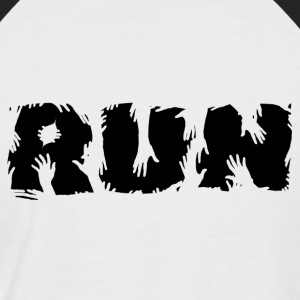 RUN! - Men's Baseball T-Shirt