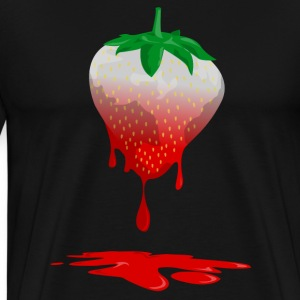 Strawberries color T-Shirts - Men's Premium T-Shirt