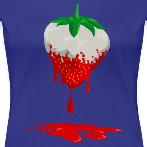 Strawberries color runs out T-Shirts - Women's Premium T-Shirt