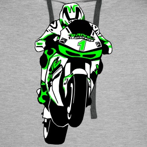MotoGP Sweat-shirts - Sweat-shirt à capuche Premium pour hommes
