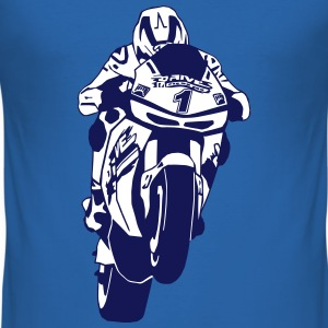 MotoGP T-Shirts - Men's Slim Fit T-Shirt