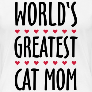 World's Greatest Cat Mom T-Shirts - Women's Premium T-Shirt
