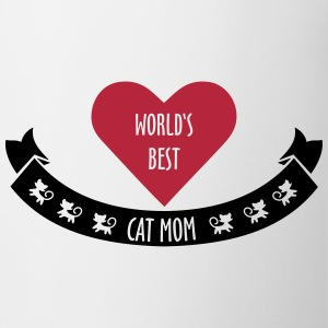 World's Best Cat Mom Tassen & Zubehör - Tasse