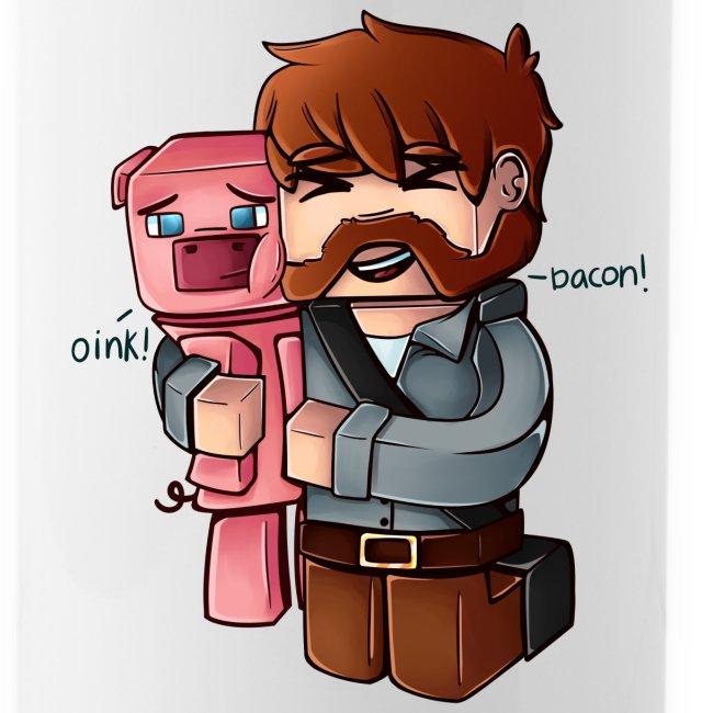 Eg elske bacon - Flaske