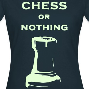T-shirt classica Donna Chess Or Nothing Rook Fluo - Maglietta da donna