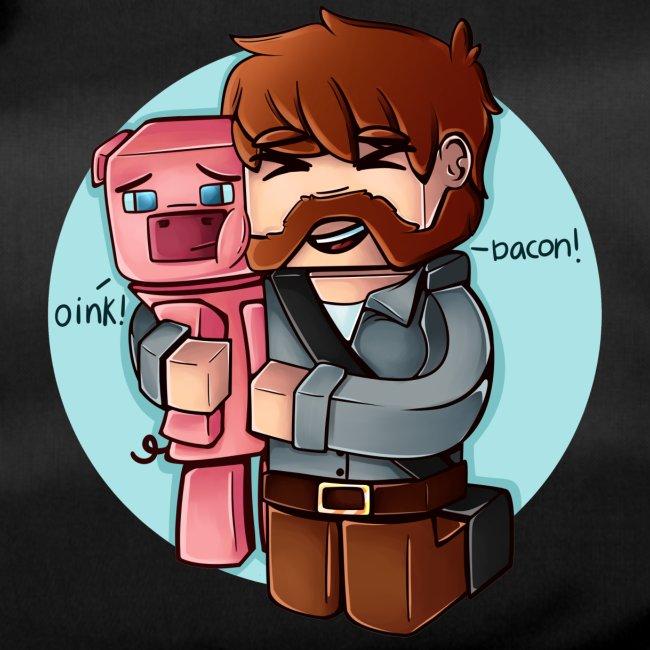 Eg elske bacon - Sportsbag