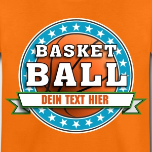 basketball_team_04201502 T-Shirts - Kinder Premium T-Shirt