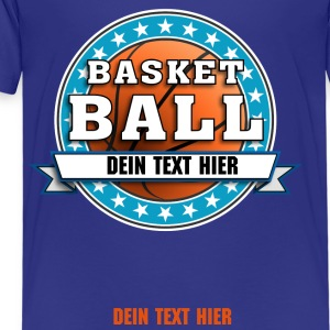basketball_team_04201503 T-Shirts - Kinder Premium T-Shirt