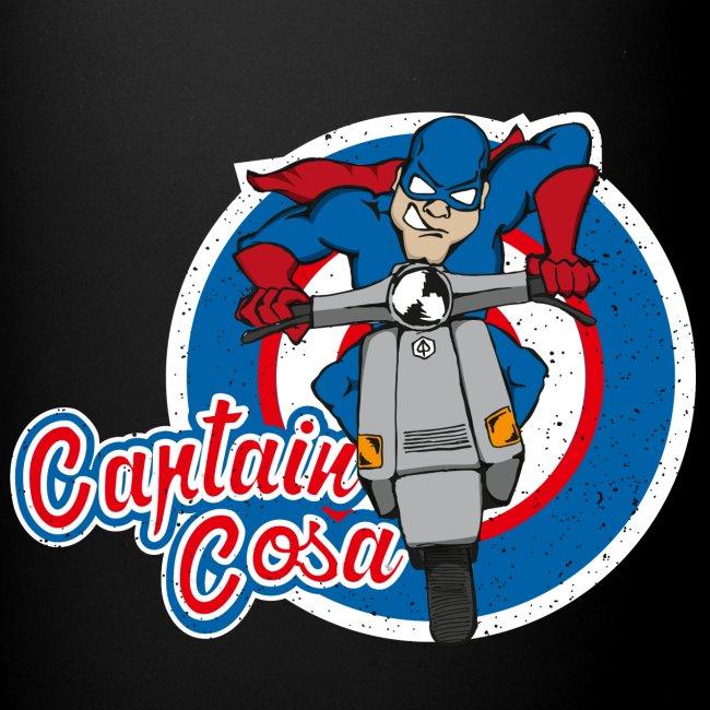 """""""Captain Cosa"""" Tasse"""