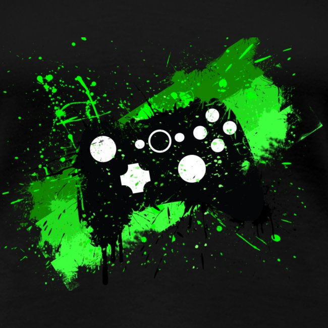 Womens Gaming Controller T-Shirt